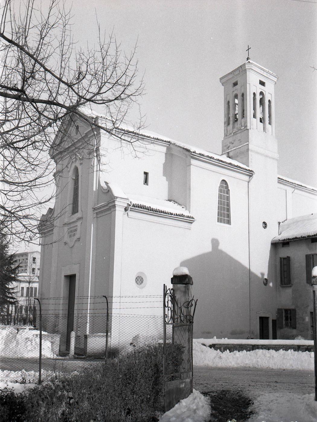 CHIESA DI SAN PELLEGRINO FOTOTECA BIBLIOTECA PANIZZI, STUDIO VAIANI, REGGIO EMILIA 1960