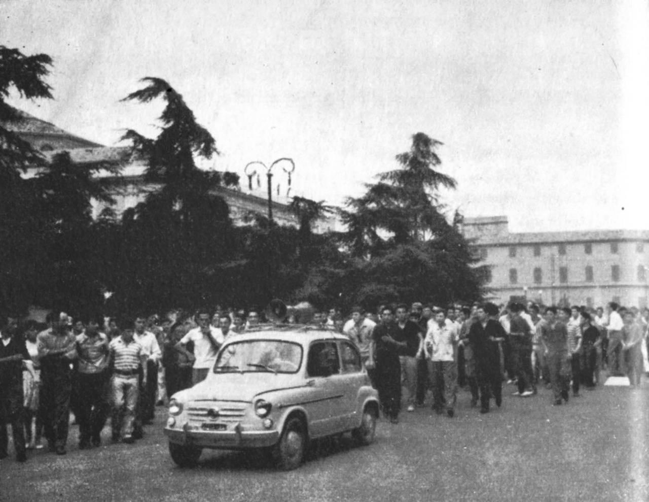 auto dati sciopero