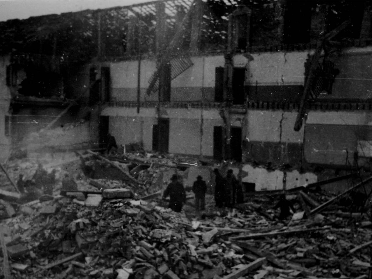 bombardamento via turri