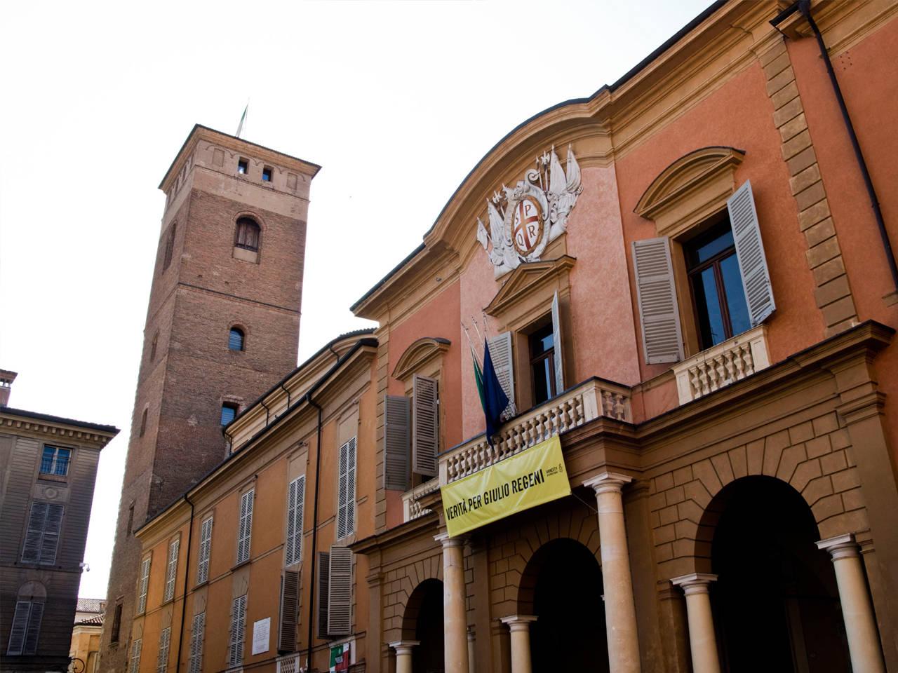 Municipio di Reggio Emilia - Sala del Tricolore e Torre del Bordello