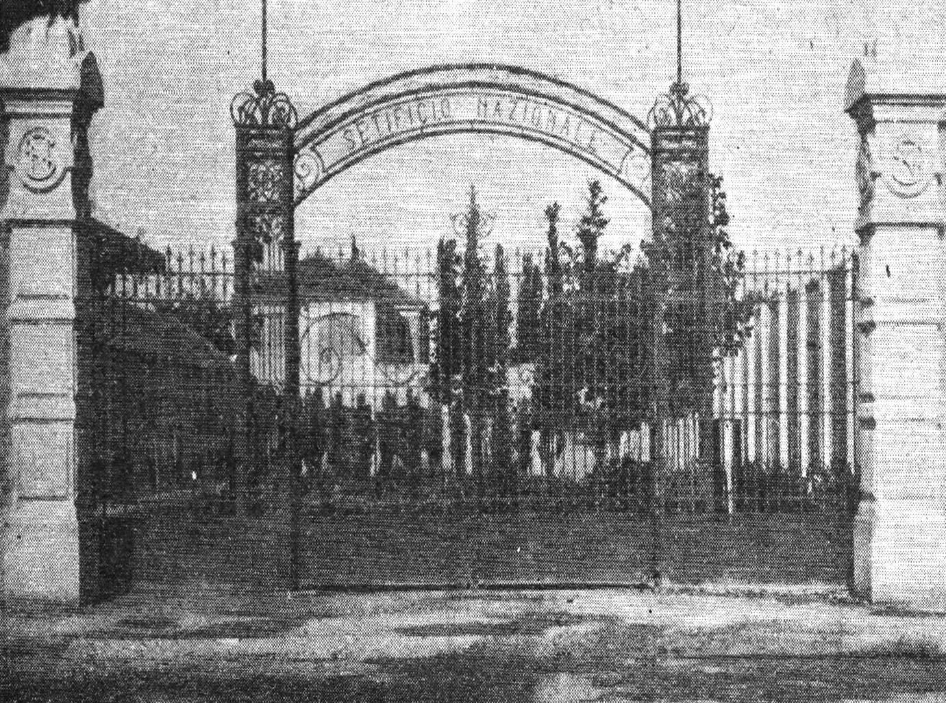 Cancello calzificio Bloch