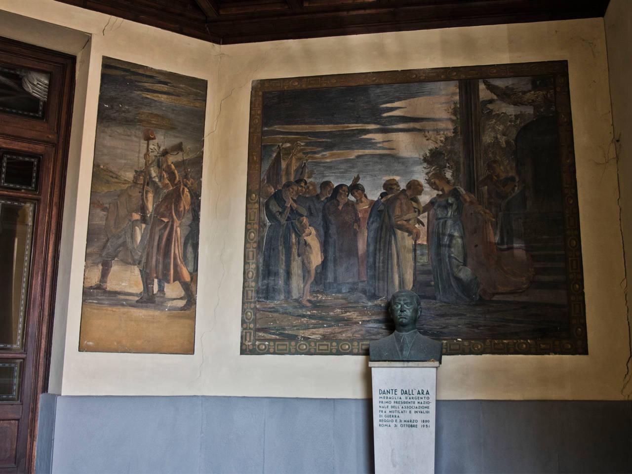 Interni casa del mutilato di Reggio Emilia