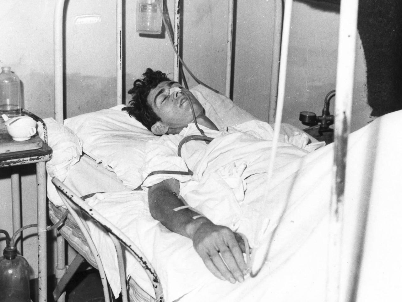 ferito in ospedale