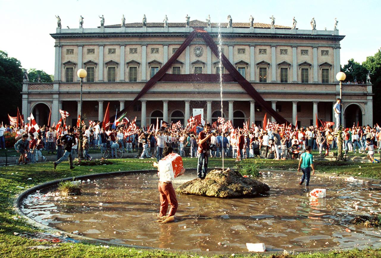 festa promozione reggiana serie A 1993