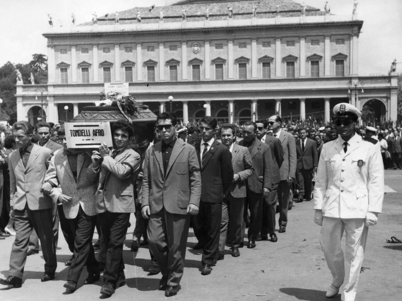 funerale afro tondelli