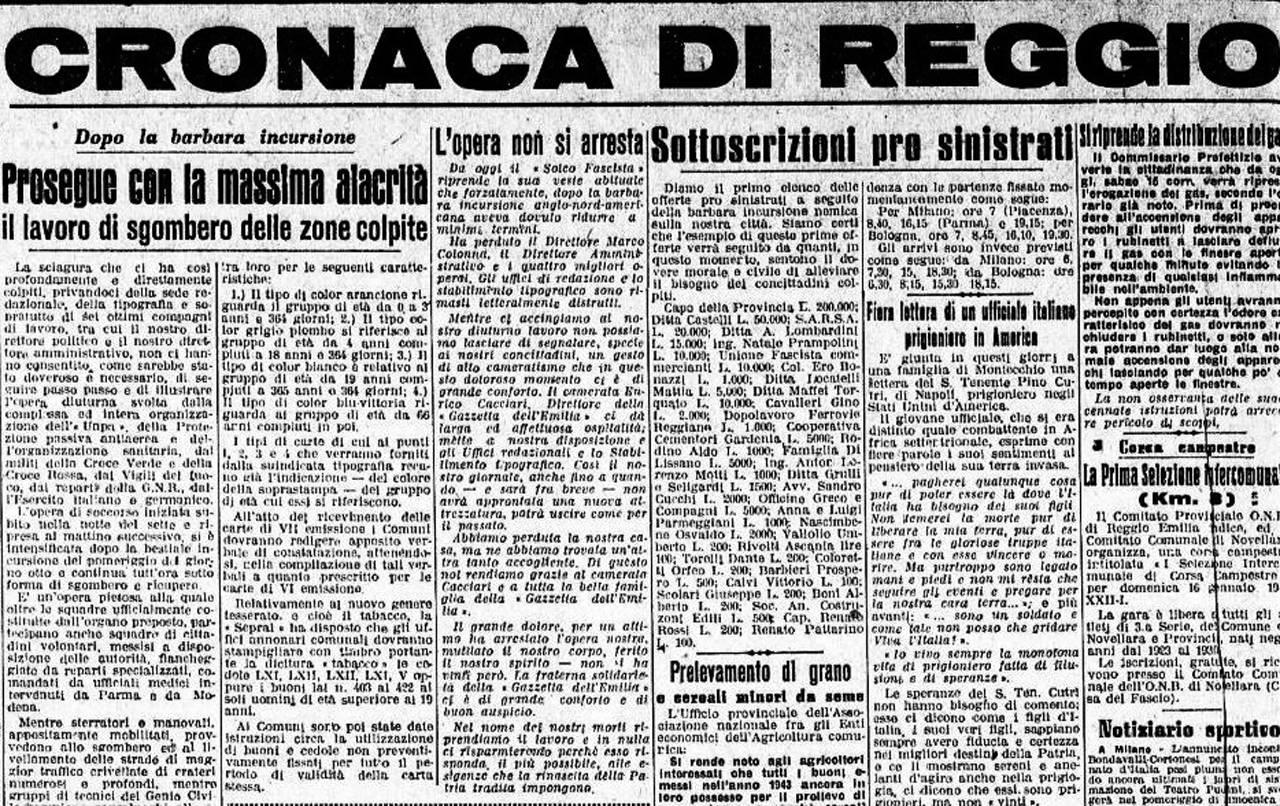 il solco fascista 15 gennaio 44