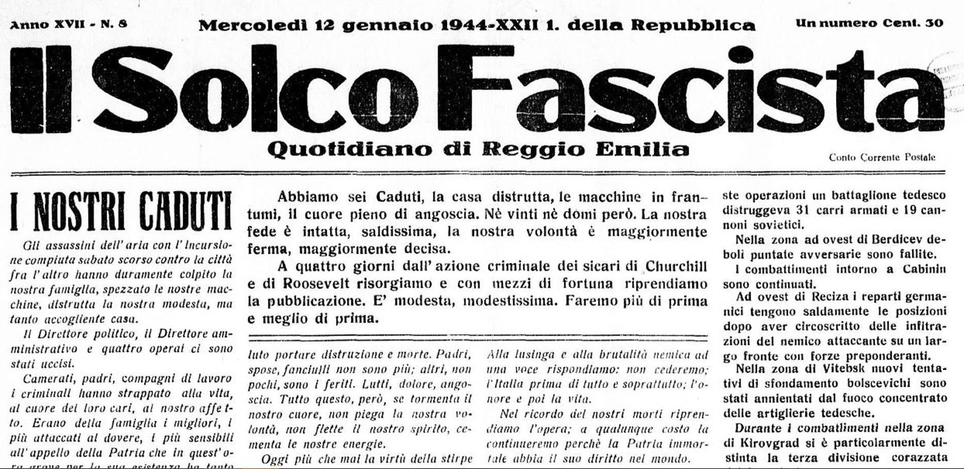 il solco fascista