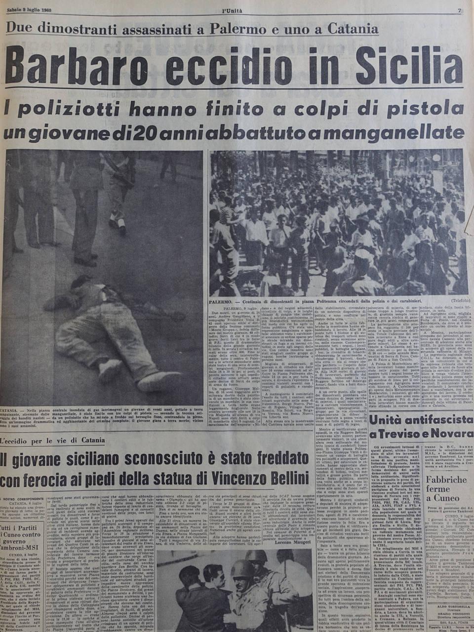 l unita 7 luglio 60