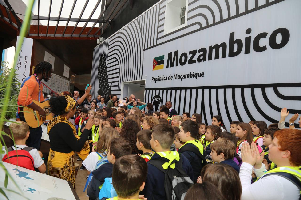 padiglione mozambico expo