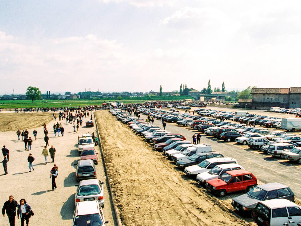 reggiana juventus parcheggio tifosi