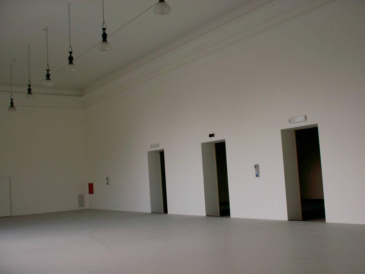 sala verdi prima del restauro