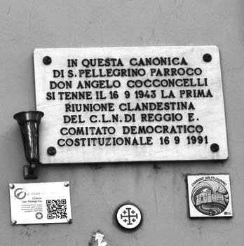 Targa Canonica San Pellegrino -  Don Cocconcelli