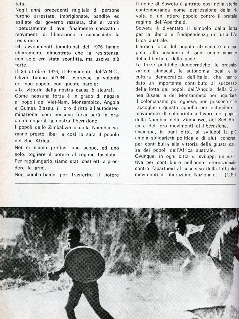 sechaba 1 giugno 78