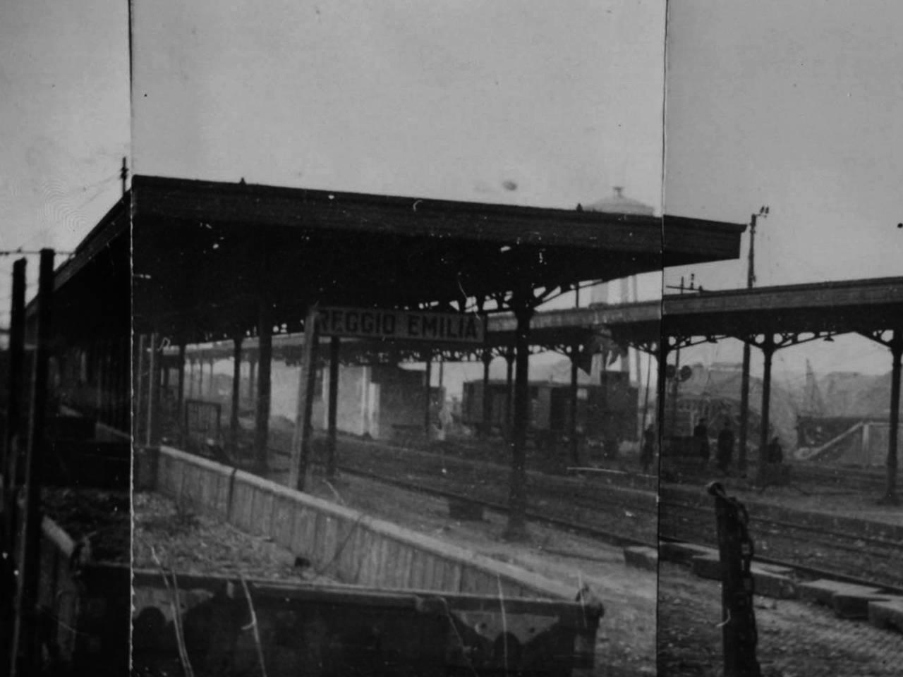 stazione bombardata gennaio 44