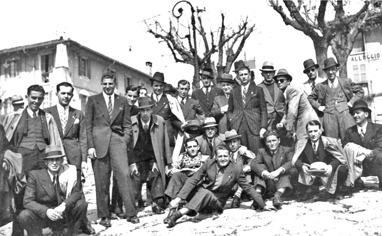 Tifosi della Reggiana in trasferta a Sesto Calende