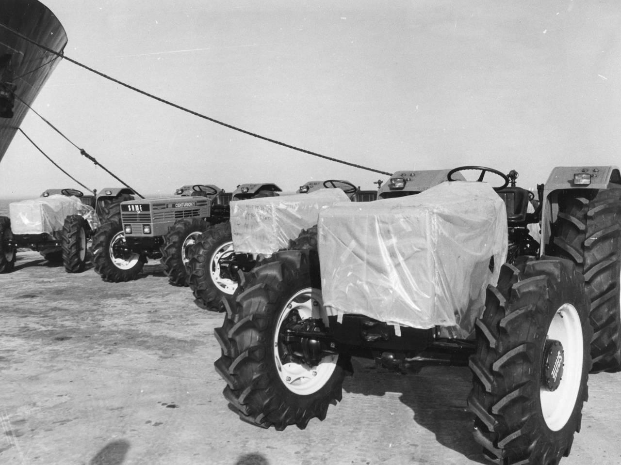 trattori donati a pemba